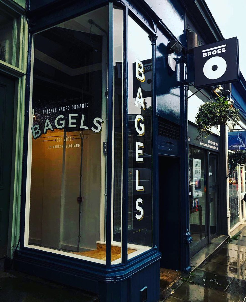 Welcome to the neighbourhood Bross Bagels 🥯  . . . Bross Bagels are already established in Edinburgh with two other popular locations, they're now bringing their delicious bagels to the West End! Give them a follow @BrossBagels  . . . #hiddengems #edinburghswestend