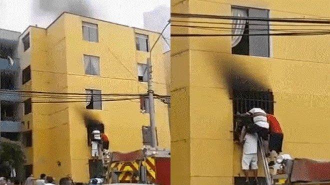 #URGENTE | San Miguel: menor de edad muere en incendio dentro de edificio multifamiliar ►https://t.co/HLIuhYdUSI