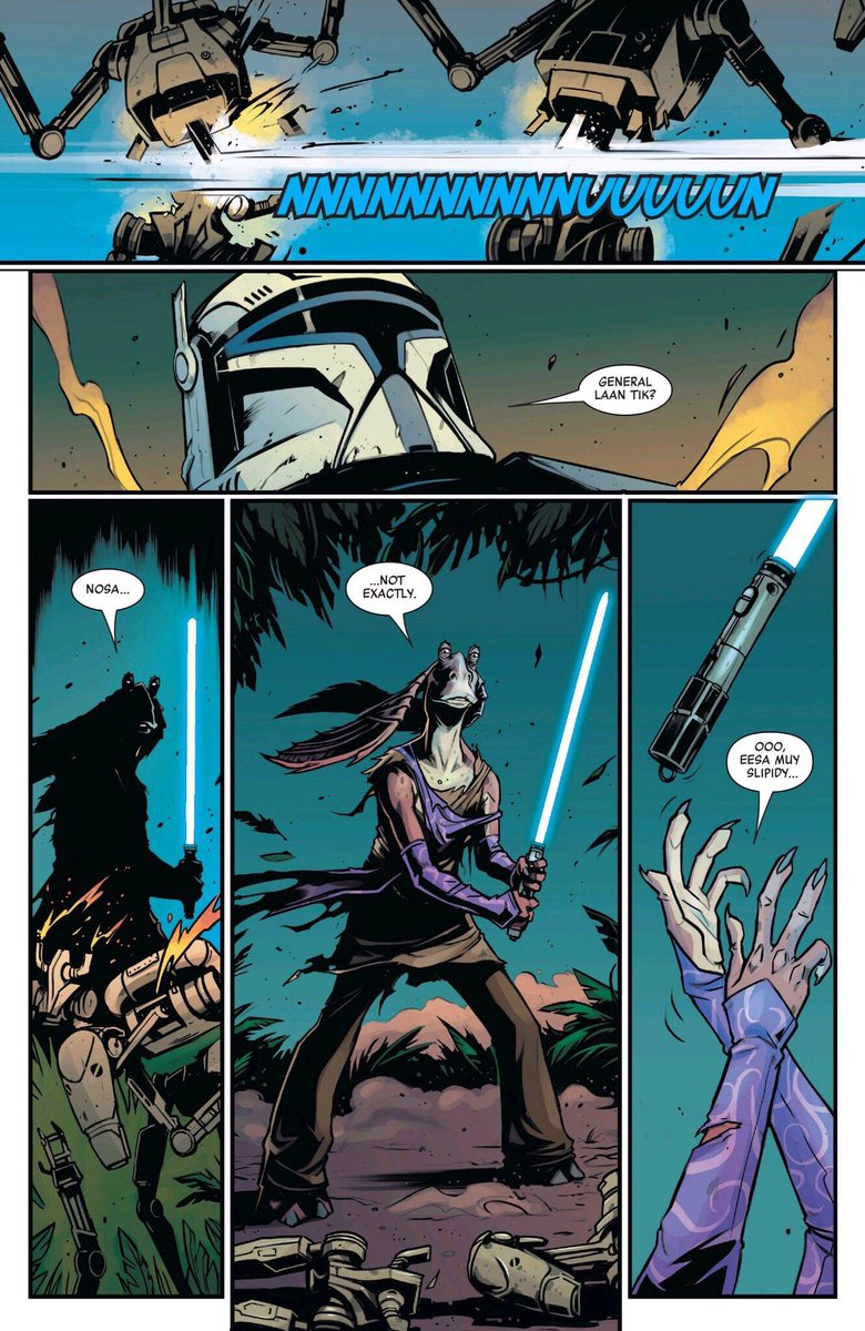 This is by far the best thing to happen in Star Wars comics. Don't @ me