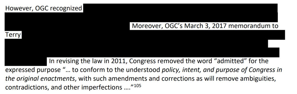 The IG says GSA lawyers determined that Trump's becoming president didn't violate the terms of the lease for his DC hotel, but their reasons for concluding that are secret.