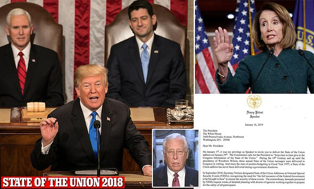 Democrats tell Trump to stay away from Congress for State of the Union address over 'security' worries during government shutdown https://t.co/DqvO5o3jRV