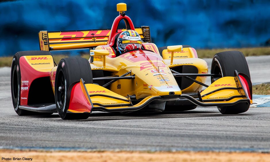 It's been too long.. such a great feeling to get back behind the wheel of this beauty and back to work preparing for the 2019 @IndyCar season. Another productive &amp; promising Sebring test in the books. @DHLUS @AutoNation @FollowAndretti @HondaRacing_HPD<br>http://pic.twitter.com/rhGuuWbitu