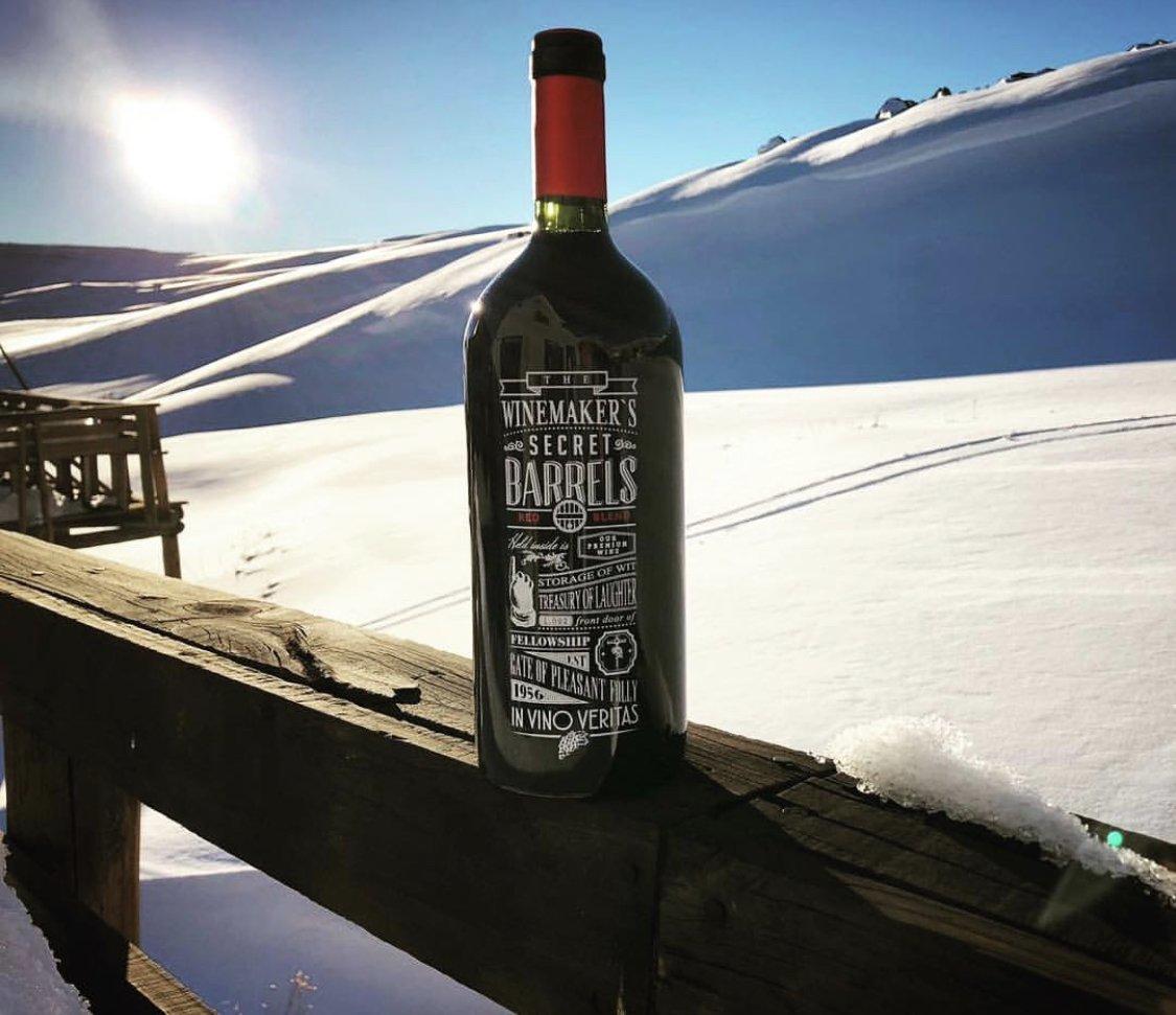 Winemarker's secret barrels