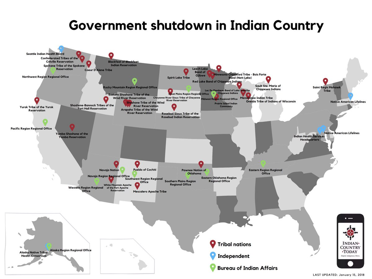 Mark Trahant talks #GovernmentShutdown and Indian Country on