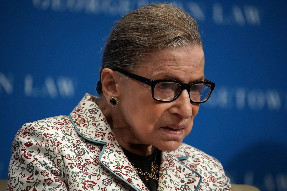 SCOTUS Justice Ruth Bader Ginsburg event canceled at Skirball Cultural Center; spokesperson says Ginsburg 'curtailing travel and focusing on her work' while recuperating from cancer surgery https://t.co/Hkymf2ukq7