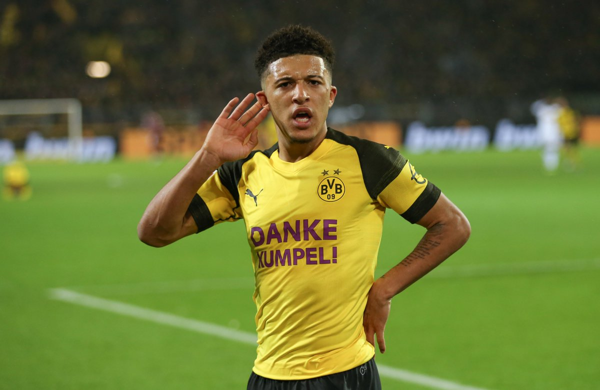 Jadon Sancho: &quot;I was kind of surprised when they [Dortmund] offered the No7 shirt to me, but I realised: why not? I believe in myself, so why not?&quot;  #UCL #WednesdayWisdom<br>http://pic.twitter.com/VBI2iJioME