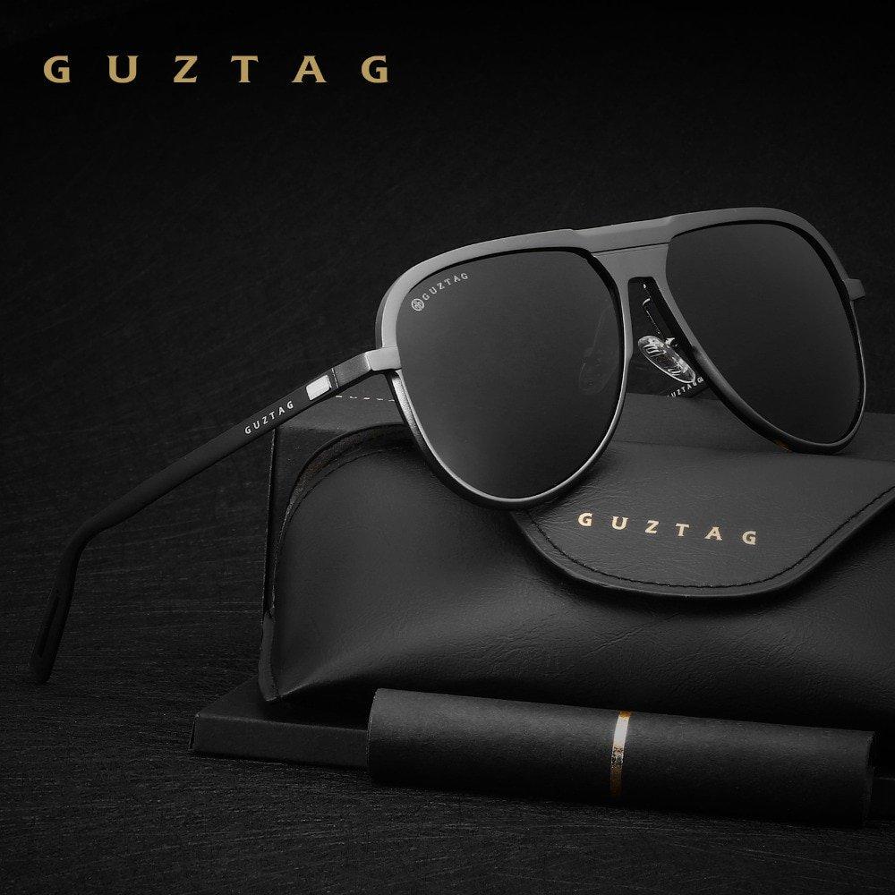 bb26dbbec5 GUZTAG Unisex Classic Brand Men Aluminum Sunglasses HD Polarized UV400  Mirror Male Sun Glasses Women For