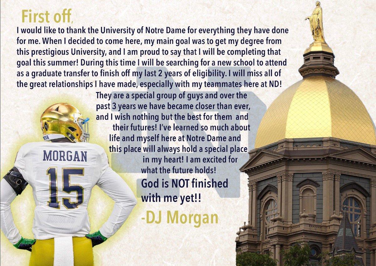 Notre Dame LB Announces Graduate Transfer