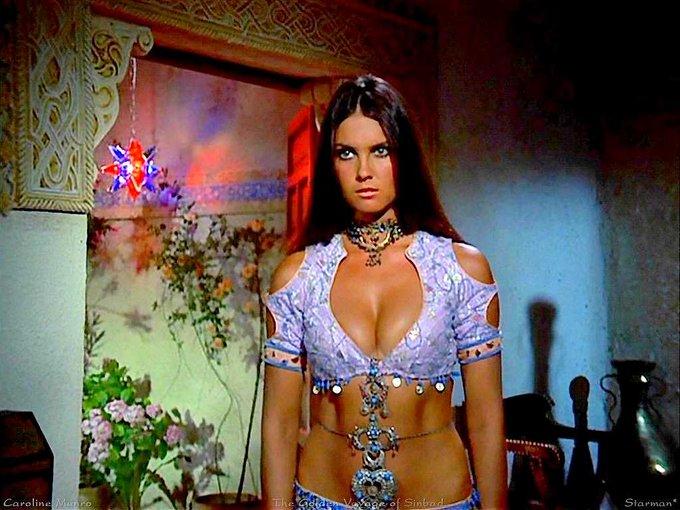 Happy 70th (!) birthday to MANIAC lover, Bond girl, and Dracula victim Caroline Munro!
