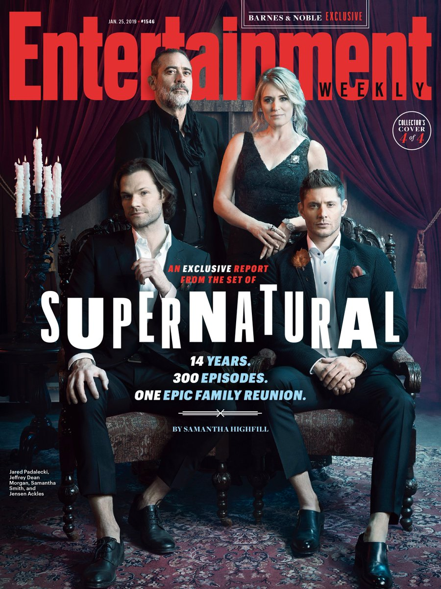 "Black tie hunting might not be ""practical"" but we look good doing it. Thanks @EW! #ThatWinchesterStyle"