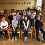 Image for the Tweet beginning: Second graders attended a Reconciliation