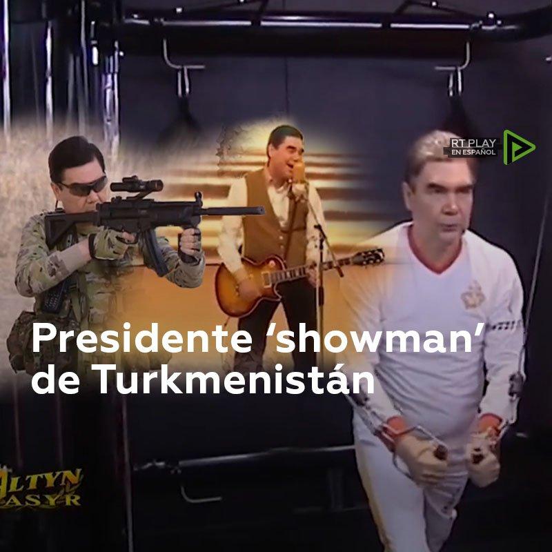 Un presidente que es todo un 'show'