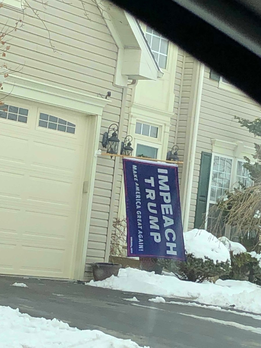 OMG!!! I love this person in my neighborhood!! I want one of these. #ImpeachTrump <br>http://pic.twitter.com/RpTcinxs6C