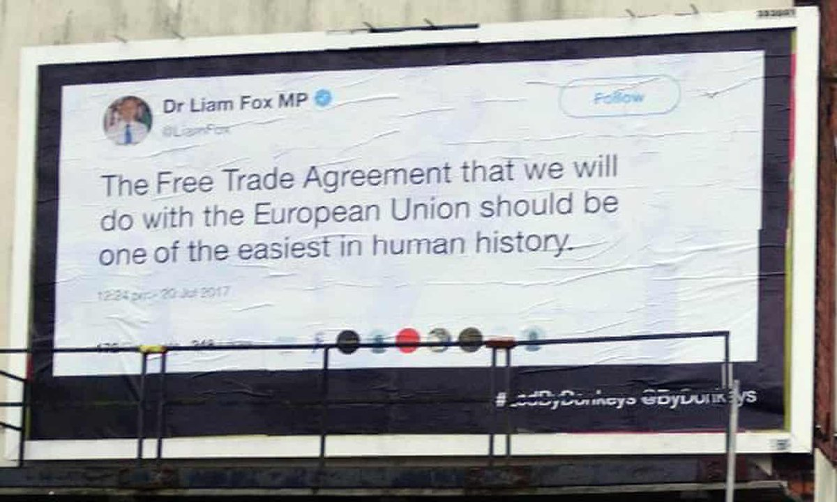 Billboard campaign reminds voters of MPs' Brexit promises https://t.co/BuqBJDeuy3