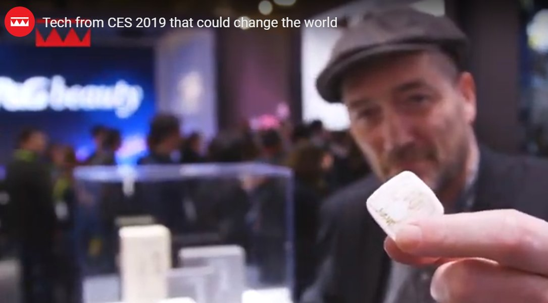 We took a trip around #CES to find the most interesting and world-changing tech.  https://t.co/DScs774gmA   #CES2019