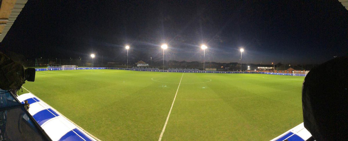 🏟 Holmes Park, the venue for tonight's @lws_youth Premier League Cup clash wit@LCFCh  under-23's.  We will bring you team news and score updates this evening...#ECFC