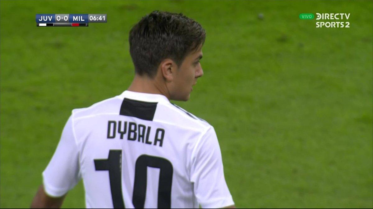 🇦🇷 Paulo Dybala 🇺🇾 Rodrigo Bentancur 🇨🇴 Cristian Zapata  #SupercopaItaliana #FutbolEnDIRECTV 🏆🇮🇹