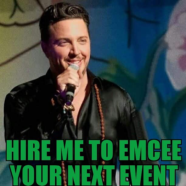 Hire me to #emcee your next #event!  So the word is out... my manager has me on Emcee Boards. If you are looking for an Emcee for your next event, #chairtyevent, stage event, #motivationalspeaker event. I'm available!  DM me or email assistant@maxtucci.com  #events #bookme #host
