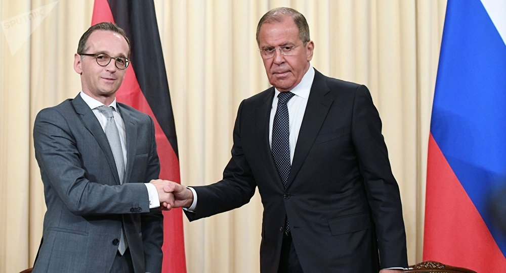 Russia's top diplomat Sergei Lavrov branded German Foreign Minister at grand presser https://t.co/GEEBBv3x7y