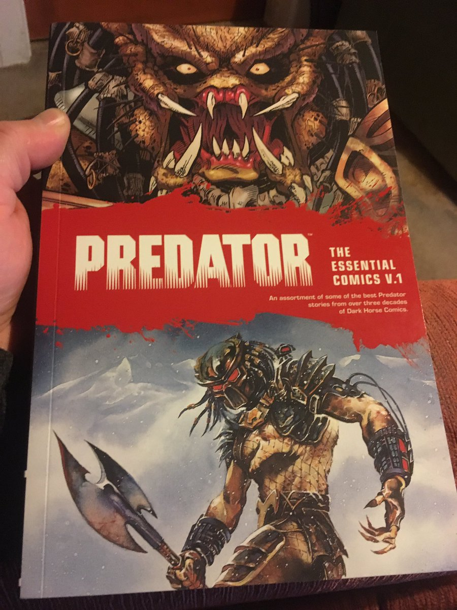 Just finished this #PredatorEssentialcomics  vol1 from @DarkHorseComics . By @MarkVerheiden and @Ron_Randall and #chrisWarner . A fun read. #Predator #GraphicNovel #Book #Comic .