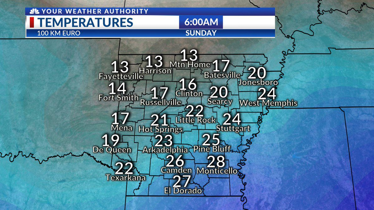 Brrr! Arctic Cold Coming to Arkansas https://t.co/mSVqebsWlM #ARNews