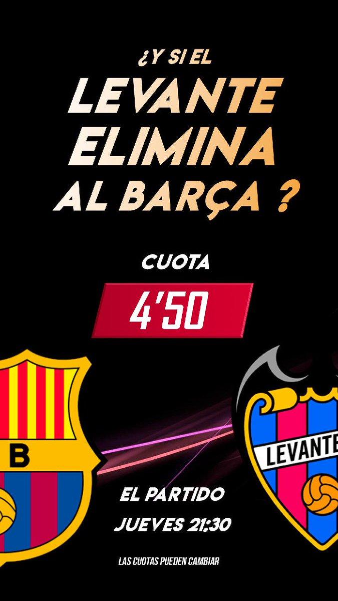¿¿El #Barcelona tiene la posibilidad de caer eliminado?? 🤭   ✅ Te damos una #CuotaDestacadaACLM fina, fina... 😉 ¿Vamos a por ella? ¡Los milagros existen! 👉 https://www.apuestasdecastillalamancha.es/esp/live/Evento/1376883…