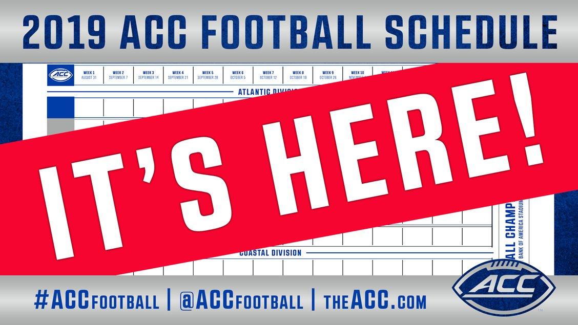 ACC Football's photo on Championship