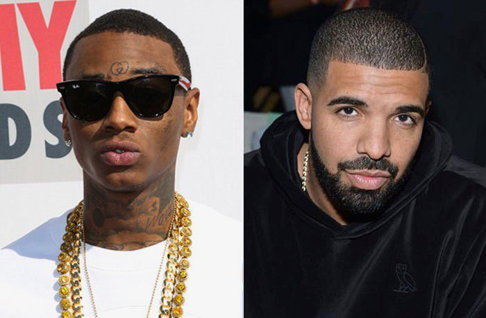 'He copied my whole fu**ing flow, word for word, bar for bar. Don't act like I didn't make Drake'  —Soulja Boy blasts Drake on 'The Breakfast Club' https://t.co/MVdfT3fRT0