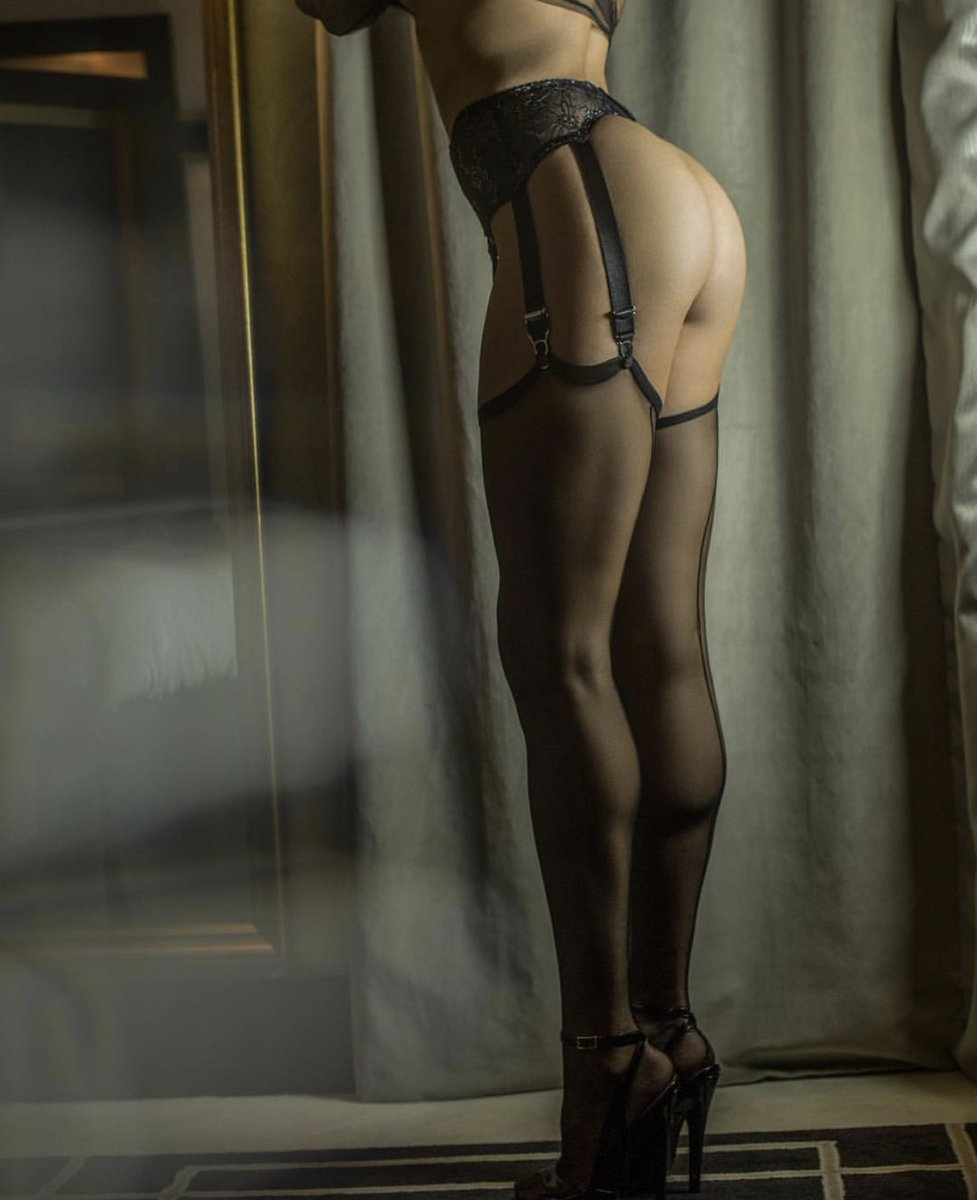 Putting On Cervin Rht Nylons In Hotel X