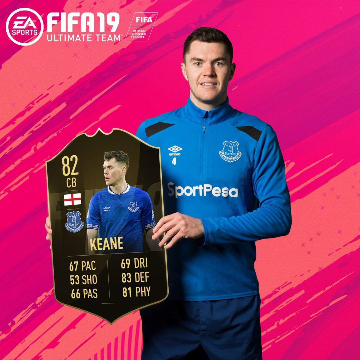 Delighted to have made @EASPORTSFIFA #TOTW. 🎮🙌 #COYB