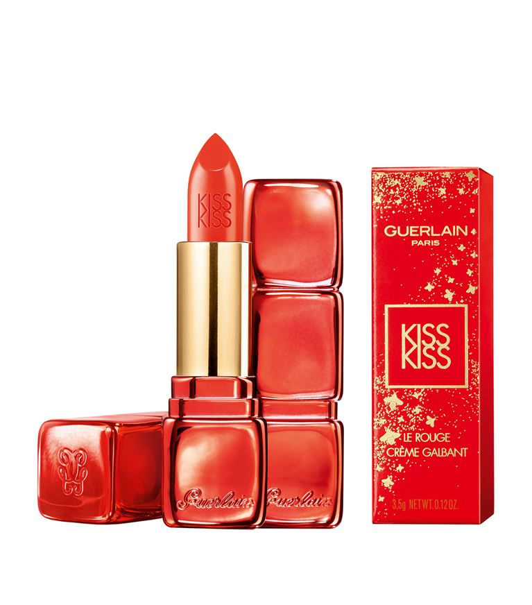 Guerlain Limited Edition Chinese New Year 2019 Lipstick Collection - KissKiss In Metallic Red   http://www. satchel.me.uk/2019/01/guerla in-limited-edition-chinese-new.html &nbsp; … <br>http://pic.twitter.com/6u4WIEt6Iq
