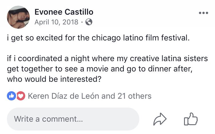 so, i found this post i wrote last year about the chicago latino film festival...   today, i got hired to join their marketing team - wow.  <br>http://pic.twitter.com/xmybv0JUFo