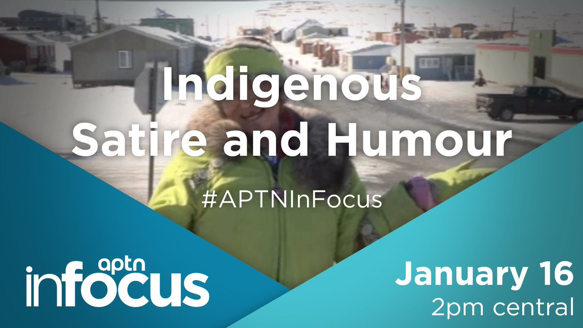 We're live at 2 pm central! How does humour help heal? Join the conversation. #APTNInFocus