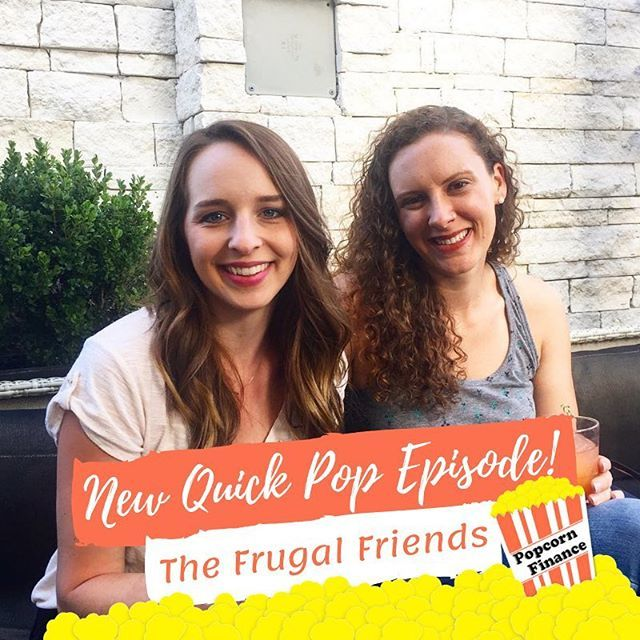 They're Back!!! @frugalfriendspodcast hosts Jen (@modernfrugality) and Jill are back for a Bonus Quick Pop Episode!!! We discuss popcorn, pennies, dry shampoo, and Jill's inability to spend money 😂. Link in bio! #popcornfinance #quickpop #dryshampoo … https://t.co/fgxuxCFW1L https://t.co/EF3IA0eERr