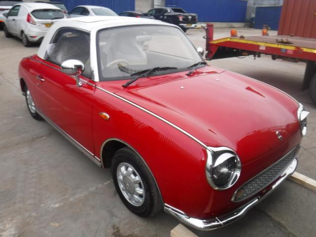 Nissan Figaro to Houston, USA | Autoshippers Car Shipping