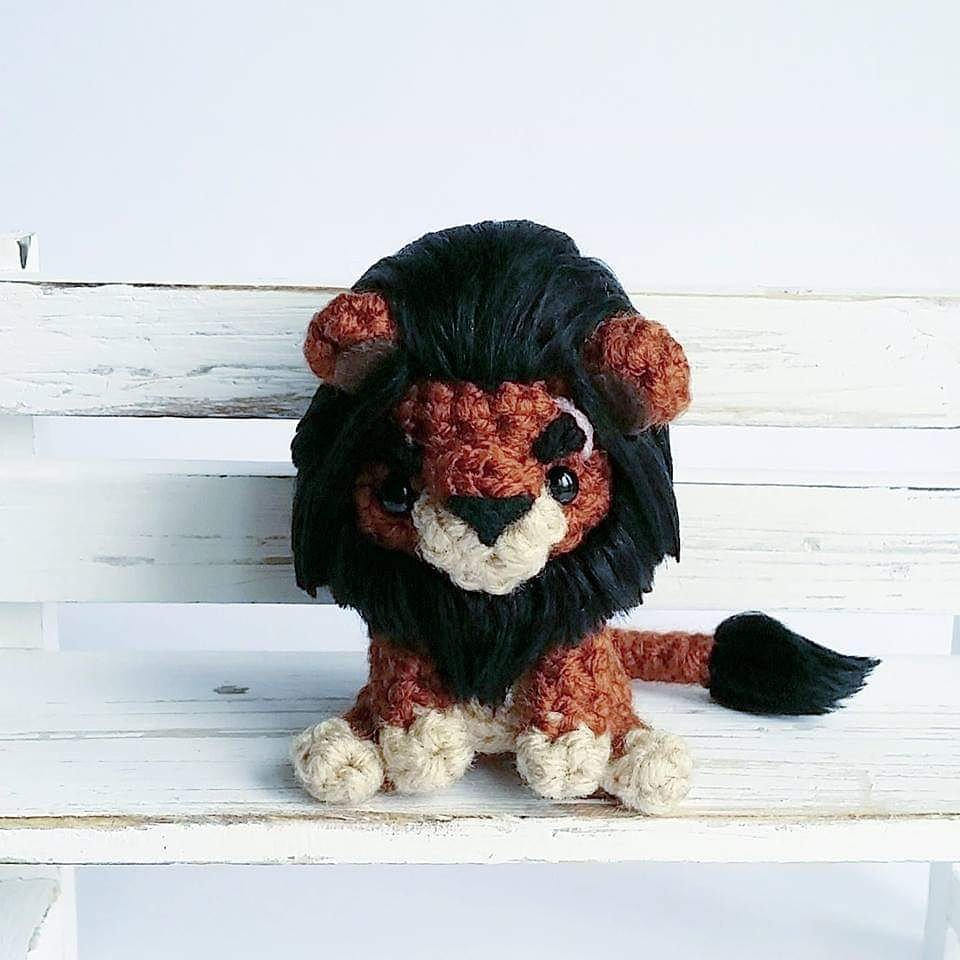 Landon the Lion (Twee Toys Collection) - Sweet Softies | Amigurumi ... | 960x960
