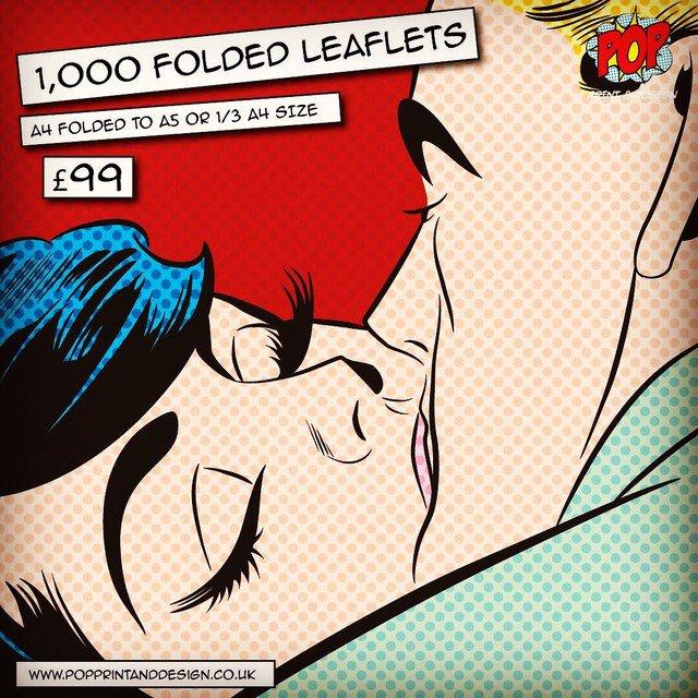 1,000 x A4 FOLDED #LEAFLETS £99 free P&P 📦 #startup #liverpool #northwesthour #huddersfield  #barnsleyisbrill  #manchester #southyorksbiz