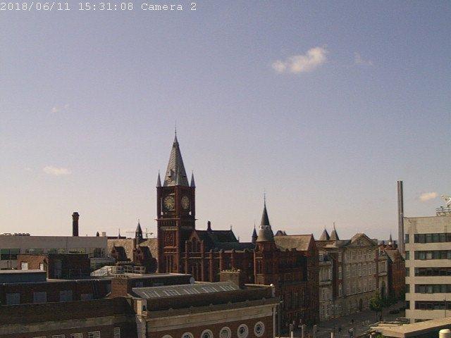 Recent 10 min av : AirTemp 5.8 °C, RH 82%, wind speed 3 m/s, wind dir 262 deg, Time 18:30UTC #weather #Liverpool