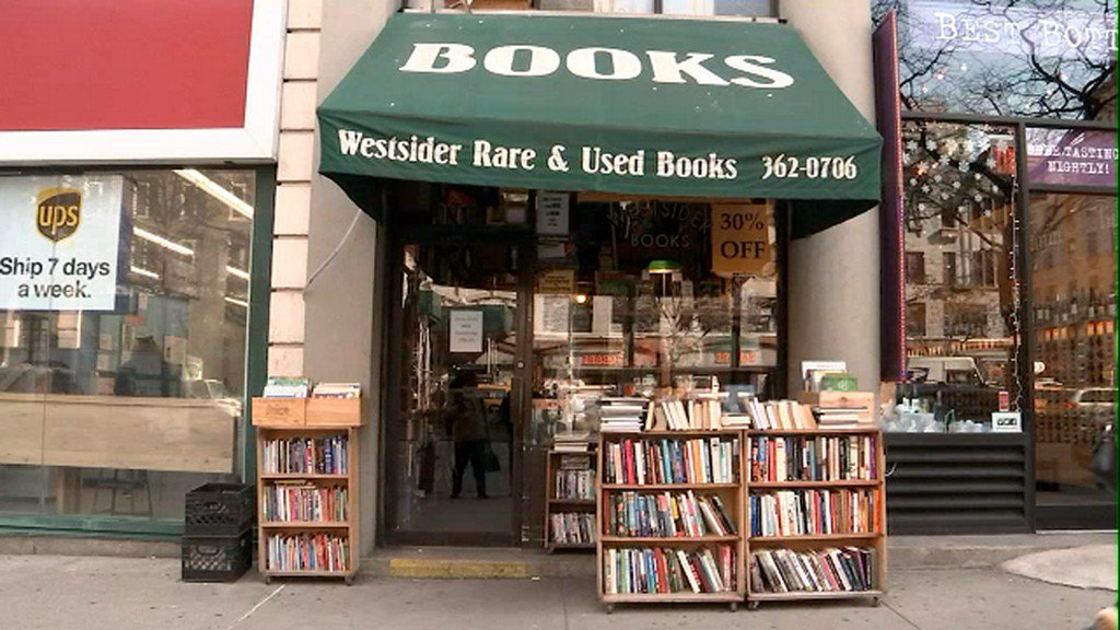 Final chapter for NYC's beloved Westsider Rare and Used Books https://t.co/vcS1RKyFwr