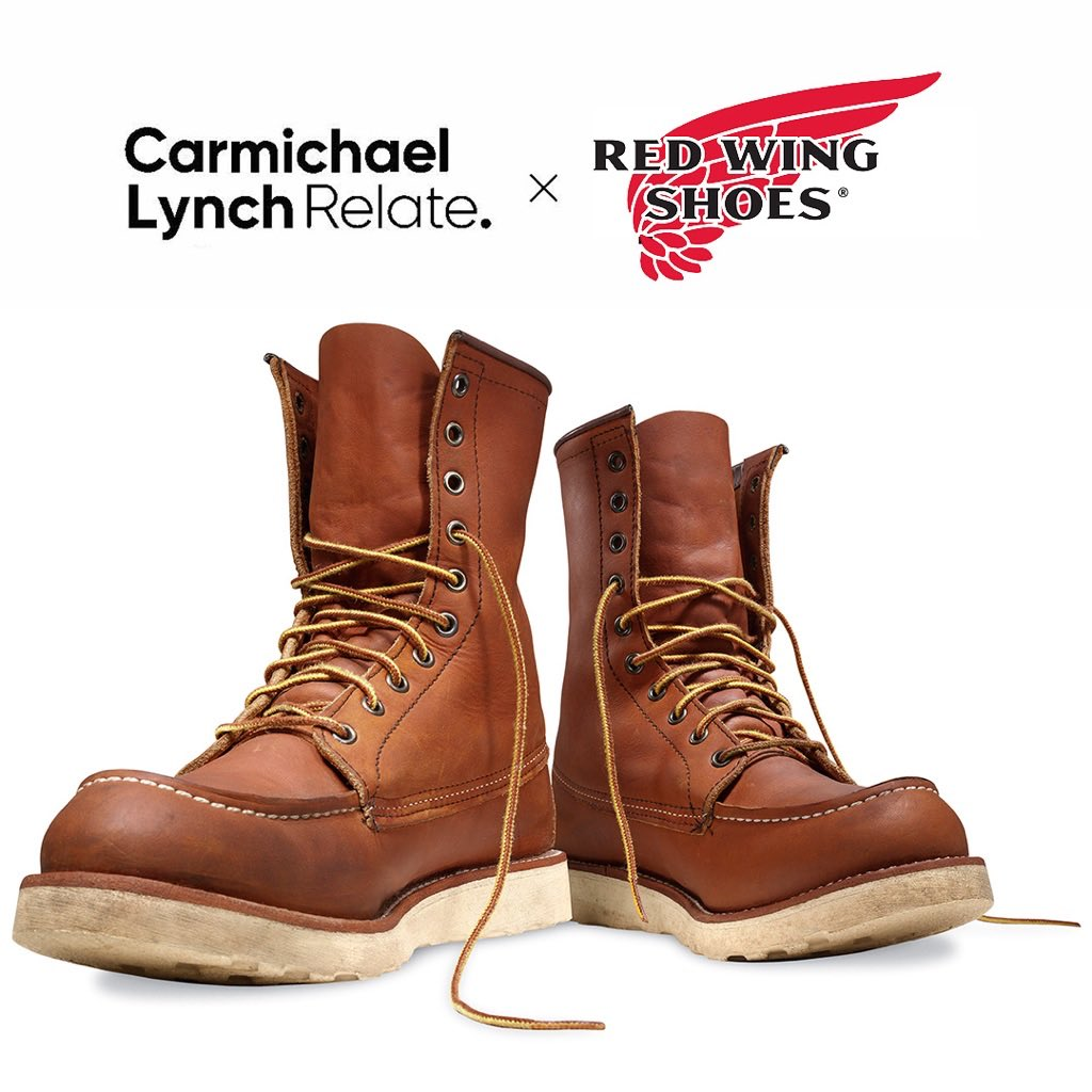 We're excited to lace up with new #client @RedWingShoes. Read more about our partnership here: https://t.co/bRDHASoPQo