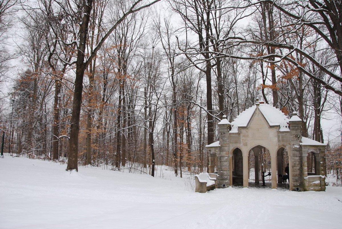 Indiana University Campus Winter