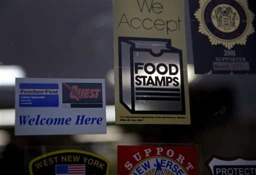 The federal government has made food stamps available through Feb. However, what happens in March if shutdown continues is anybody's guess. 'We will enter largely uncharted territory since the inception of the modern Food Stamp Program in 1977.' https://t.co/mJKH8CSGnW