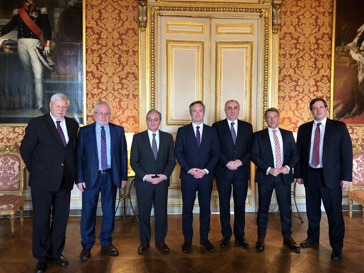 Главы МИД Азербайджана и Армении провели #переговоры в Париже https://t.co/5Osfav6Fnt #Мамедъяров #Мнацаканян https://t.co/EAcwPJ4rQE