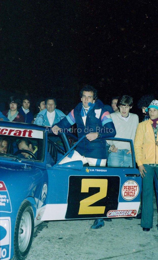 1ª carrera del TC-2000, Juan Maria Traverso, Ford Taunus 1979