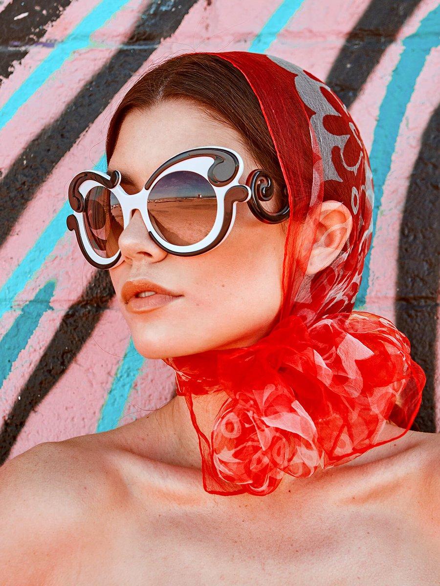 5329d11ce1 Miuccia Prada Sunglasses  Prada Model  GraceeePhillips at  theindustrymLA  Stylist Sabrina Feldman Hair MUA  onlocationglam  portrait  prada  fashion  ...