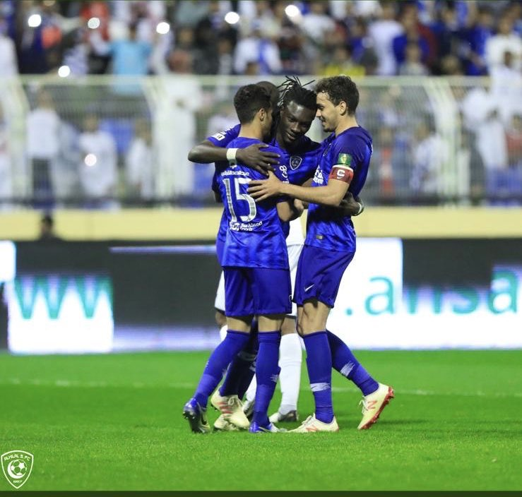 I hope everyone is having a great night out there:Because we are very happy for the Win.  Thank you all so much for your support. We are Focus already on the match of the 21th . Life is good . Keep on going Hilalis 🐾🐾💙