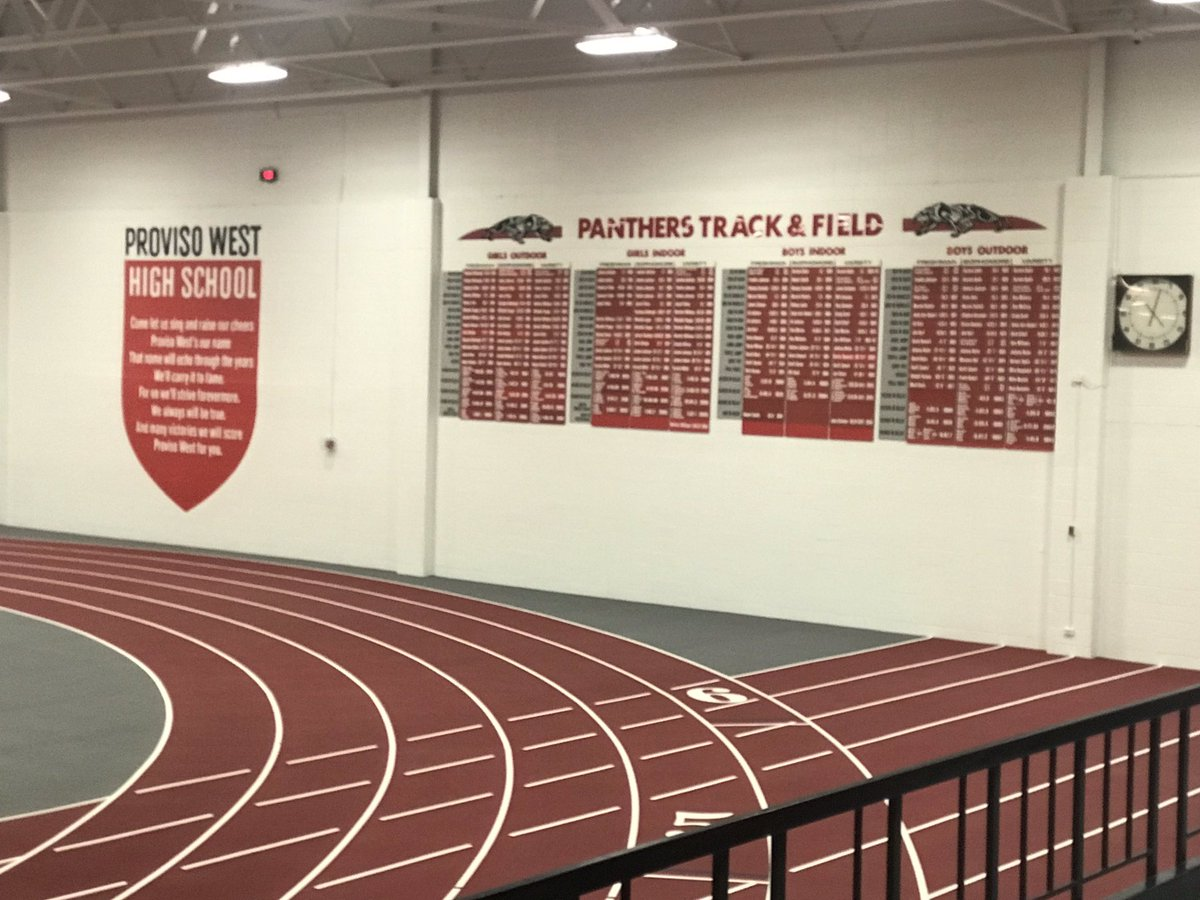 The new upgrades to the Proviso West HS field house moves them into a category of their own. Here are a few pics... dedication recap coming very soon!!<br>http://pic.twitter.com/h68imOBNO7 &ndash; à Proviso West High School