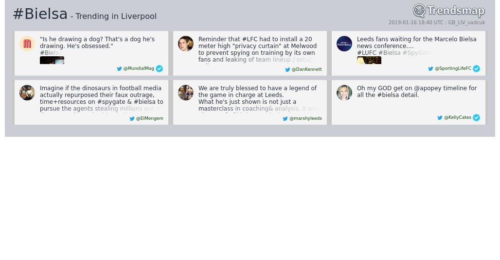 #bielsa is now trending in #Liverpool  https://www.trendsmap.com/r/GB_LIV_uxdcuk