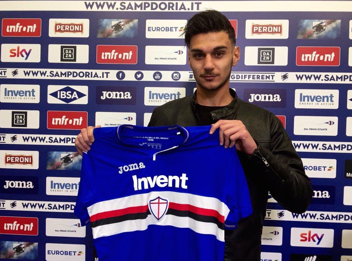 📄 Erasmo #Mule signs for #Sampdoria. He'll remain at TrapaniCalcio on loan until 30 June 2019 ➡ https://bit.ly/2McyLjo  #Sampdoria
