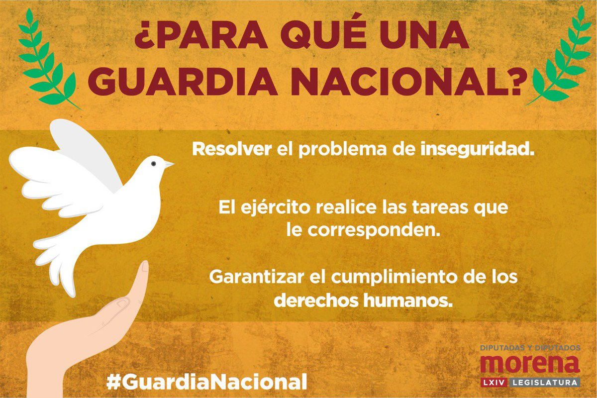 Tus Diputados Morena's photo on #GuardiaNacional